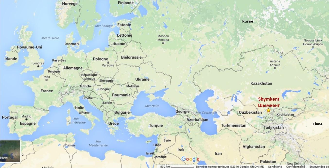 Shymkent au Kazakhstan