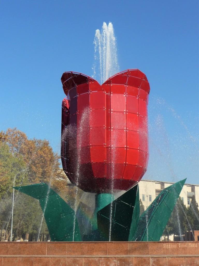 Fontaine Tulipe_Shymkent