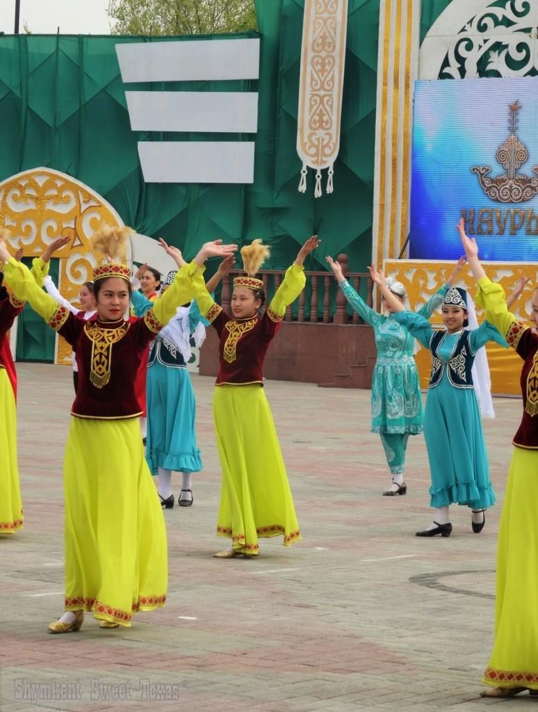 Spectacle danse Nauryz