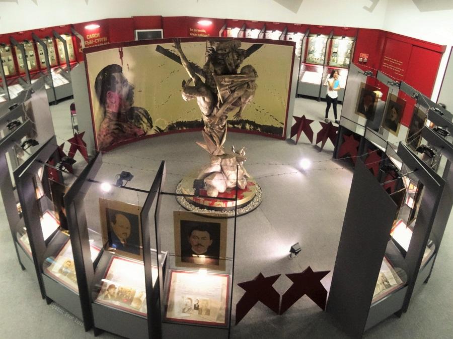 Musée victimes répression politique_Salle principale