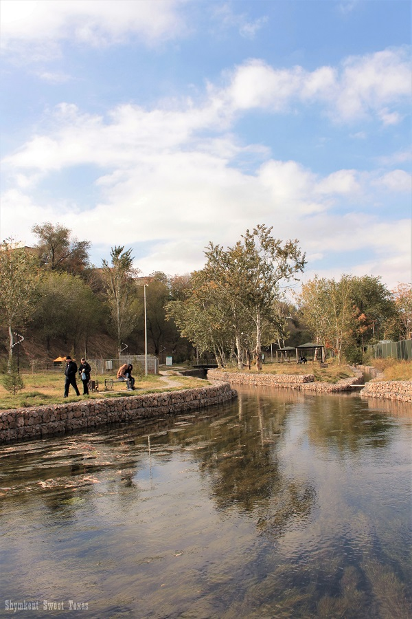The spring of Koshkar Ata River – Shymkent Sweet Texas