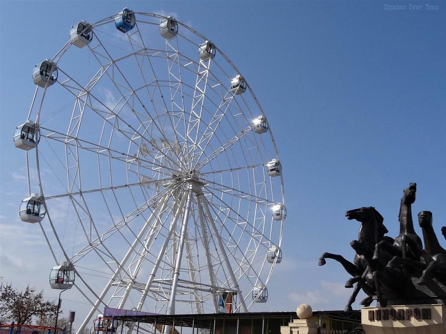 Nauryz 2017_Hippodrome et grande roue Shymkent