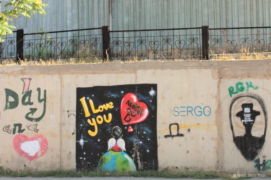 Street Art Shymkent_Torekulov_Angel on Earth