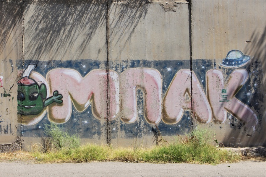 Street Art_Torekulov_Alien in Shymkent