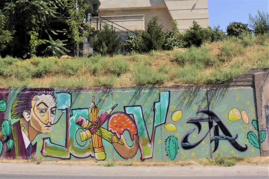 Street Art_Torekulov_Dali et ses citrons