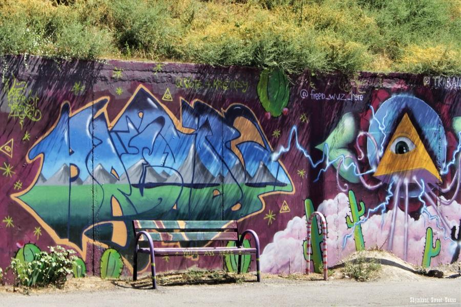 Street Art_Torekulov_Illuminatis à Shymkent