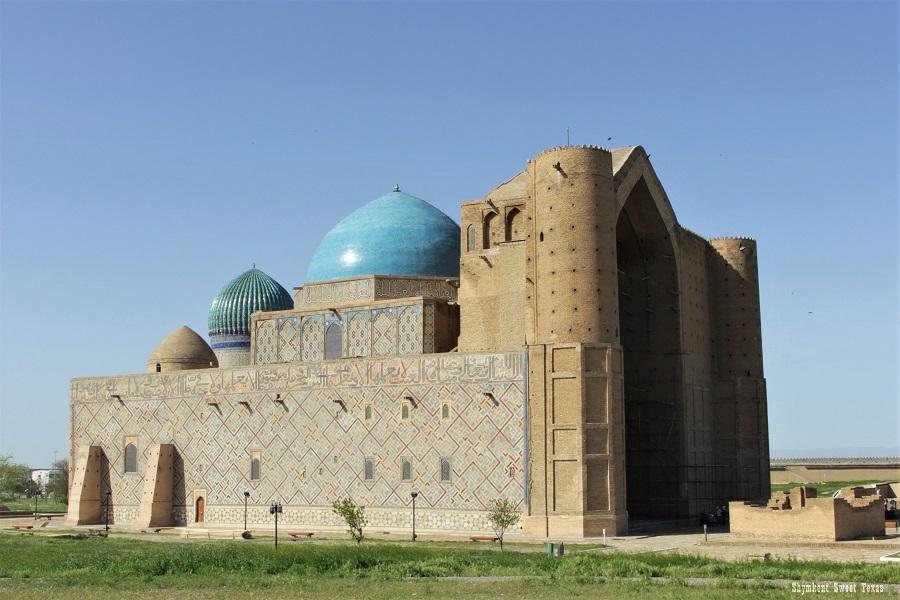 Turkestan Kazakhstan_Mausolée Ahmed Yassawi