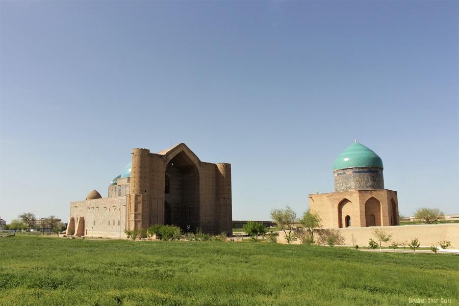 Turkestan Kazakhstan_Mausoleum of Ahmed Yasawi
