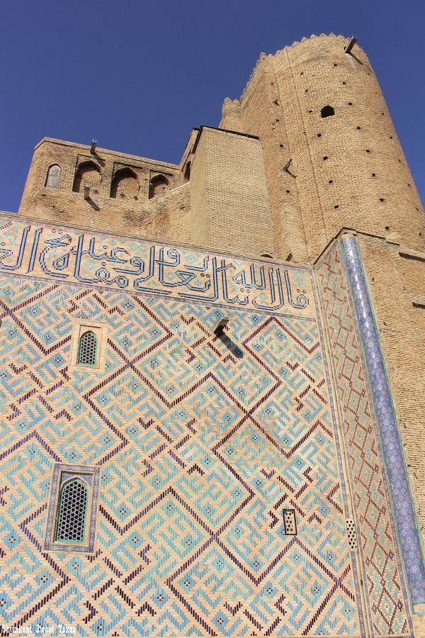 Turkestan_Mausolée Ahmed Yassawi_Arrière entrée