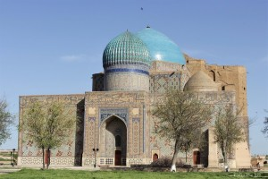 Turkestan: Mausoleum of Khoja Ahmed Yasawi