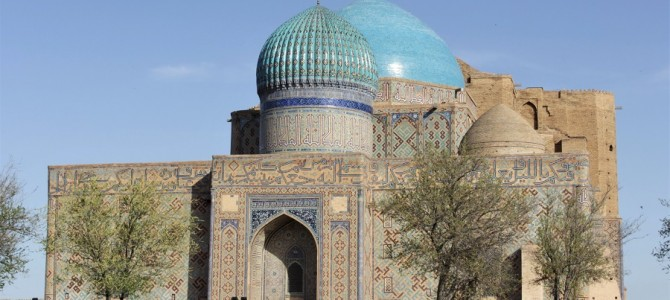 Turkestan : le mausolée de Khoja Ahmed Yassawi