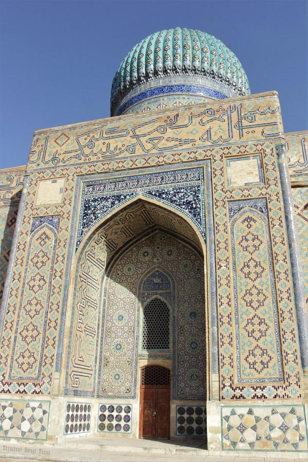 Turkestan_Mausoleum Ahmed Yassawi_Porte arrière