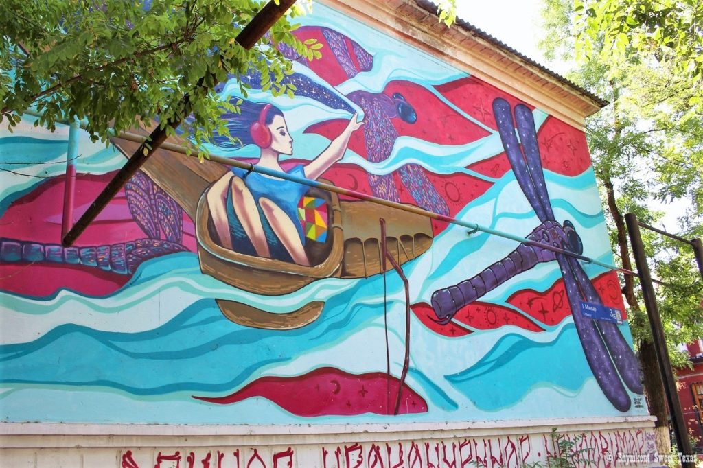 L'attribut alt de cette image est vide, son nom de fichier est Peinture-artistique-de-façade-Shymkent-Sud-Kazakhstan-1024x682.jpg.