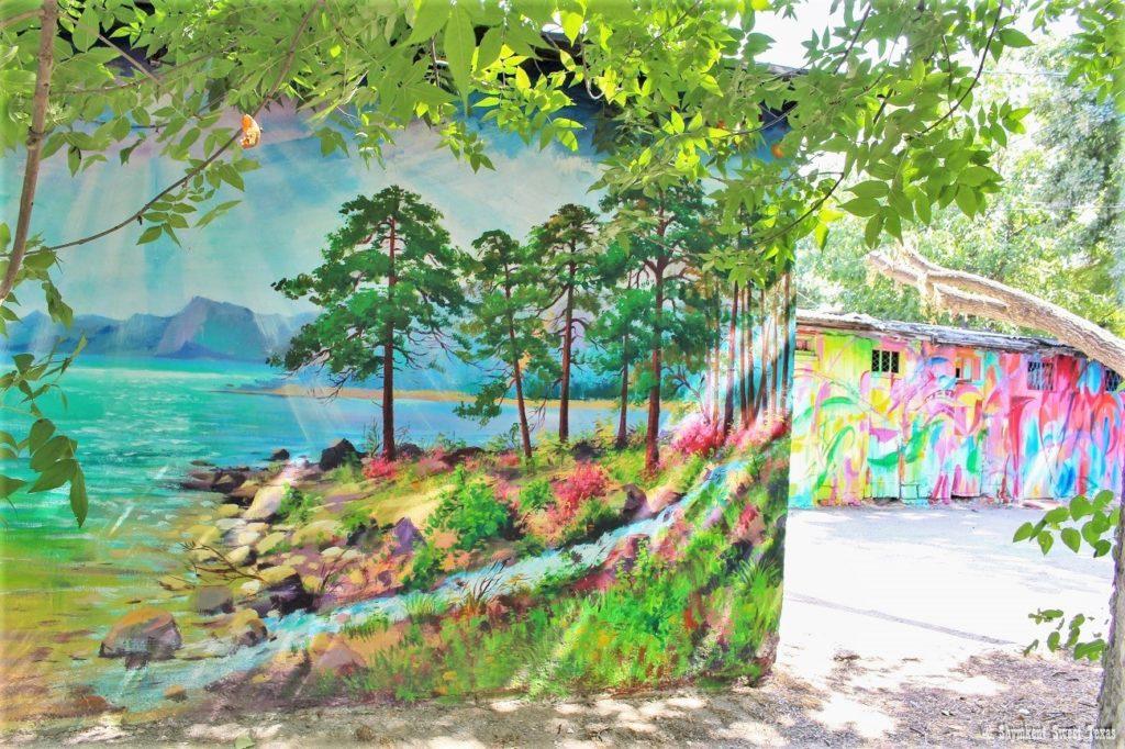 L'attribut alt de cette image est vide, son nom de fichier est Peintures-graphiques-de-murs-de-garages-Shymkent-Kazakhstan-1024x682.jpg.